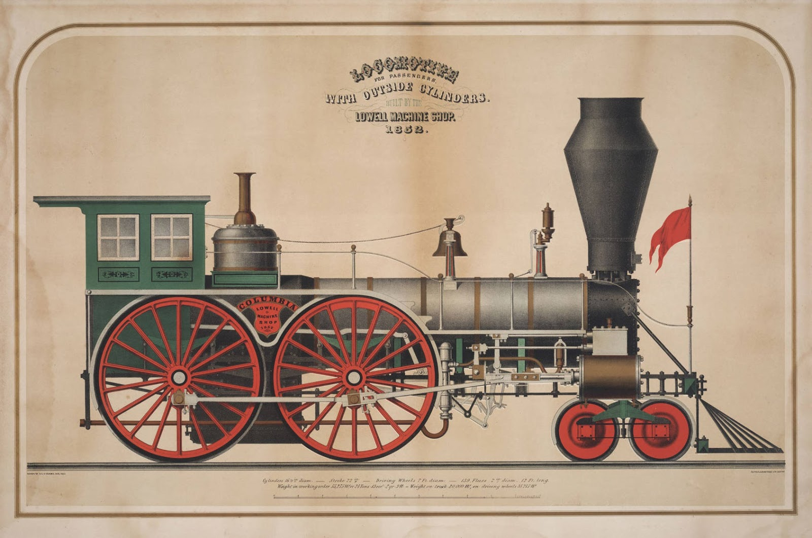 BibliOdyssey: Locomotive Lithographs