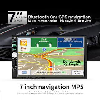 2 din autoradio gps bluetooth