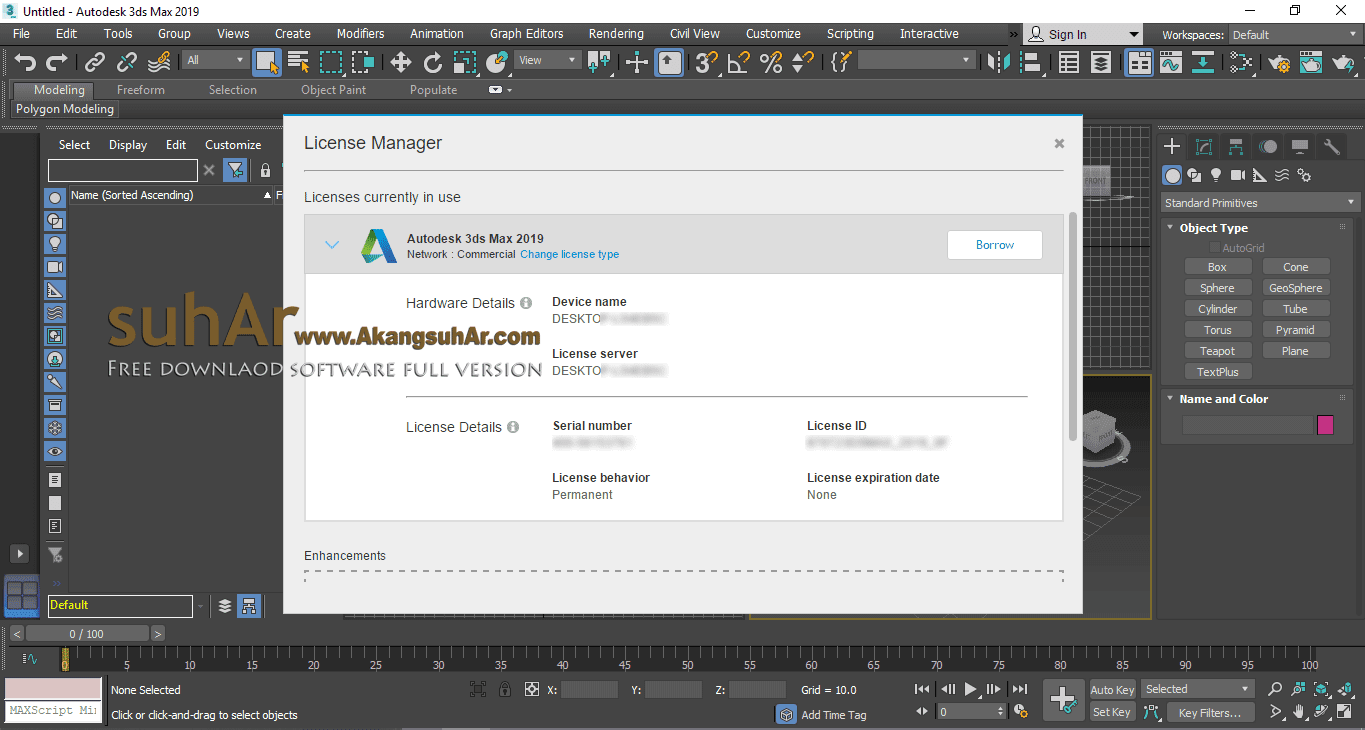 Autodesk 3DS Max 2019 Final Plus Serial Number, Autodesk 3DS Max 2019 Latest Version