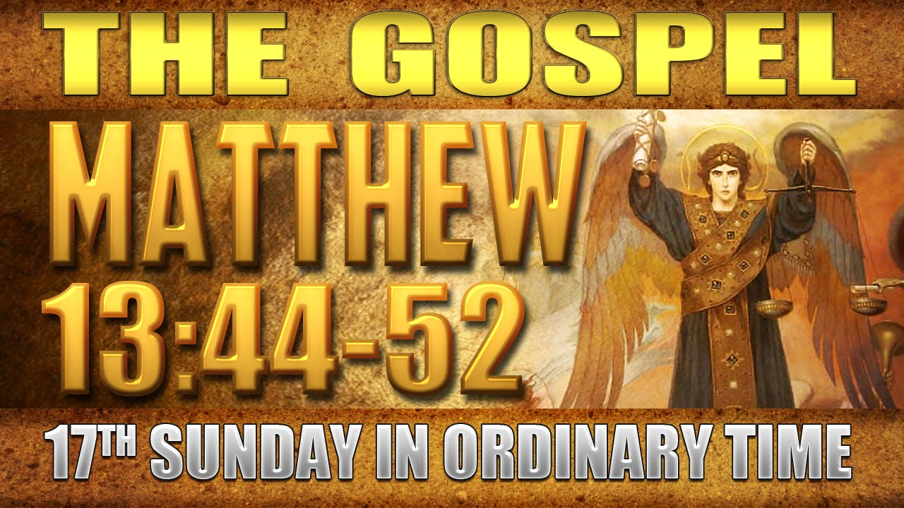 gospel matthew 3 13 17 Gospel saint matthew 3:13-17 catholic john tried to prevent him, saying, i need to be baptized by you, and yet you are coming to me.