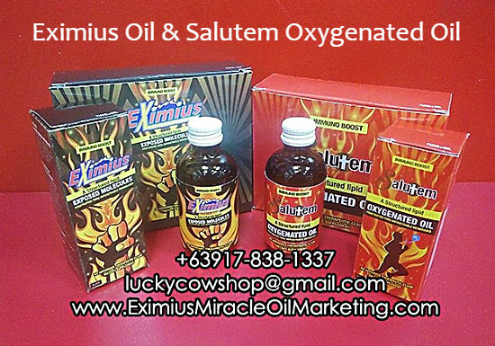 eximius oil price salutem oxygenated oil price