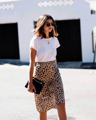 outfit juvenil casual animal print