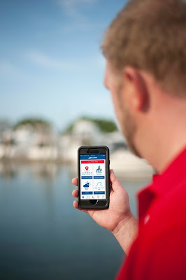 Boat US App with Hurricane Alerts