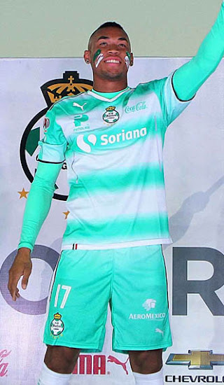 9d93268b973 Santos Laguna 16-17 Home and Away Kits Released - Footy Headlines