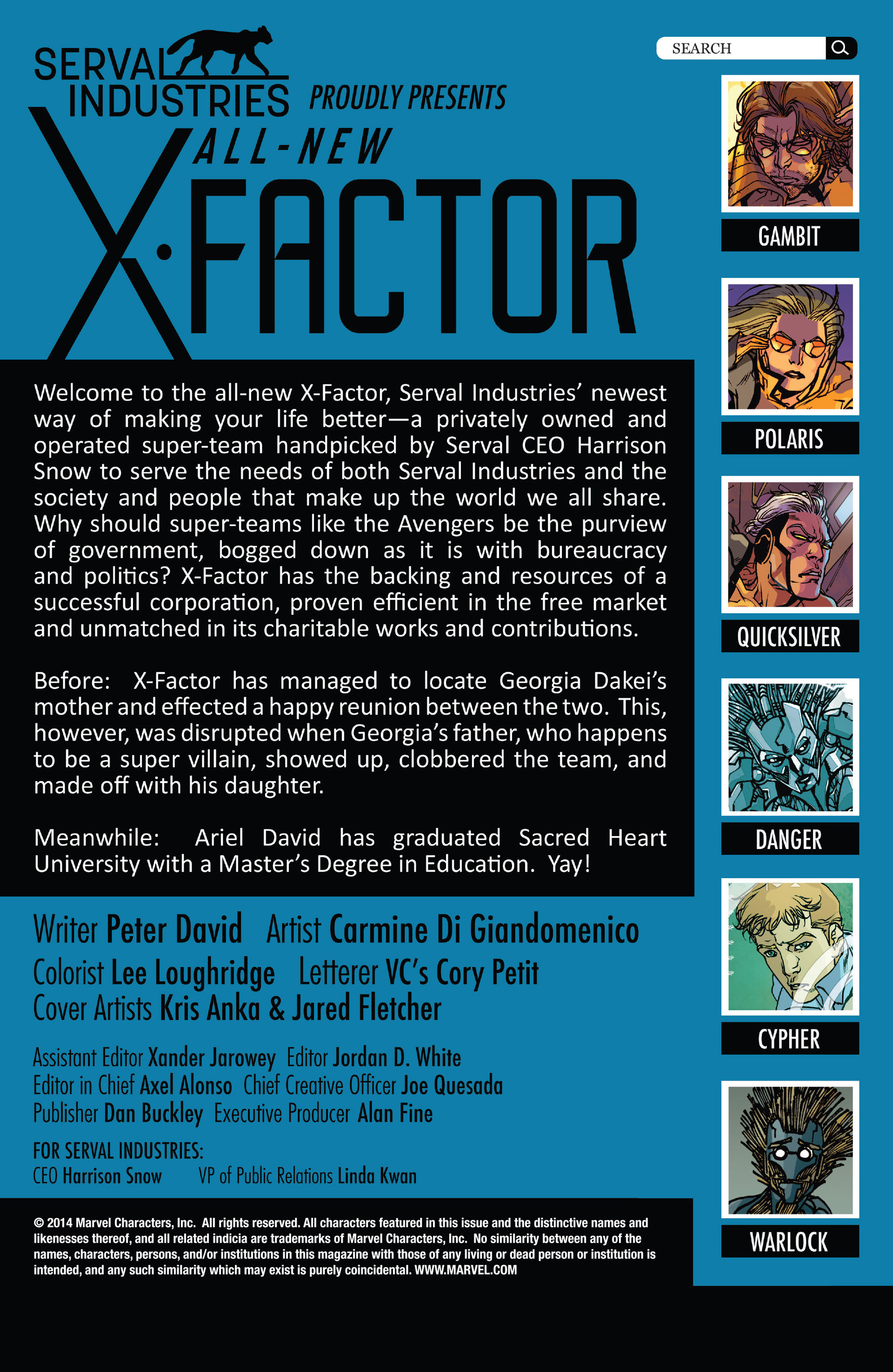 Read online All-New X-Factor comic -  Issue #10 - 2