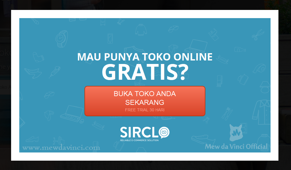 Online Shop di SIRCLO