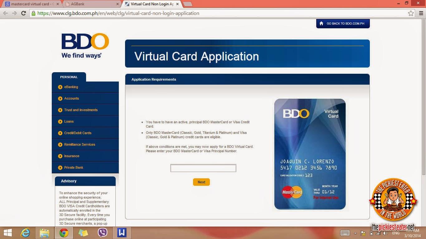 Ubl mastercard online shopping