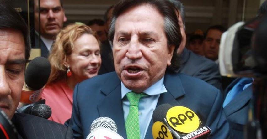 ALEJANDRO TOLEDO: Dictan 18 meses de prisión preventiva para ex presidente por Caso Ecoteva