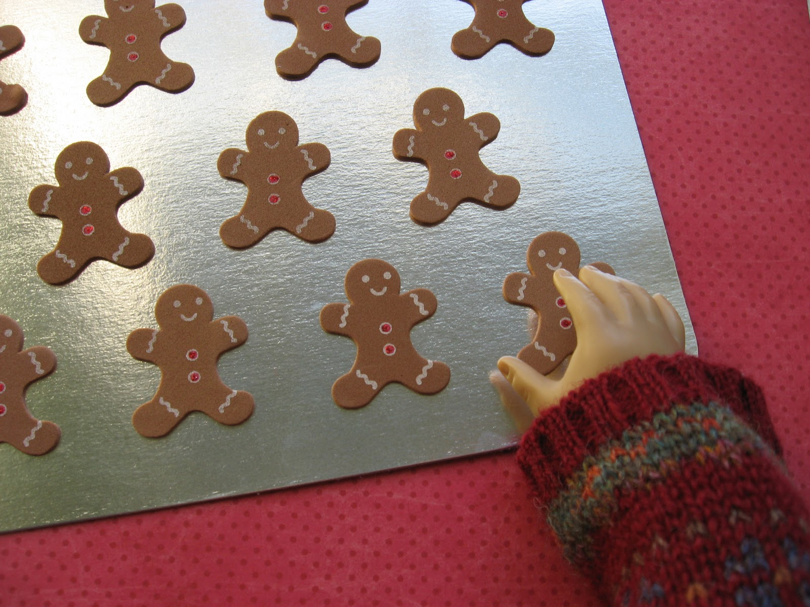 A Doll For All Seasons Easy To Make A Doll Sized Cookie
