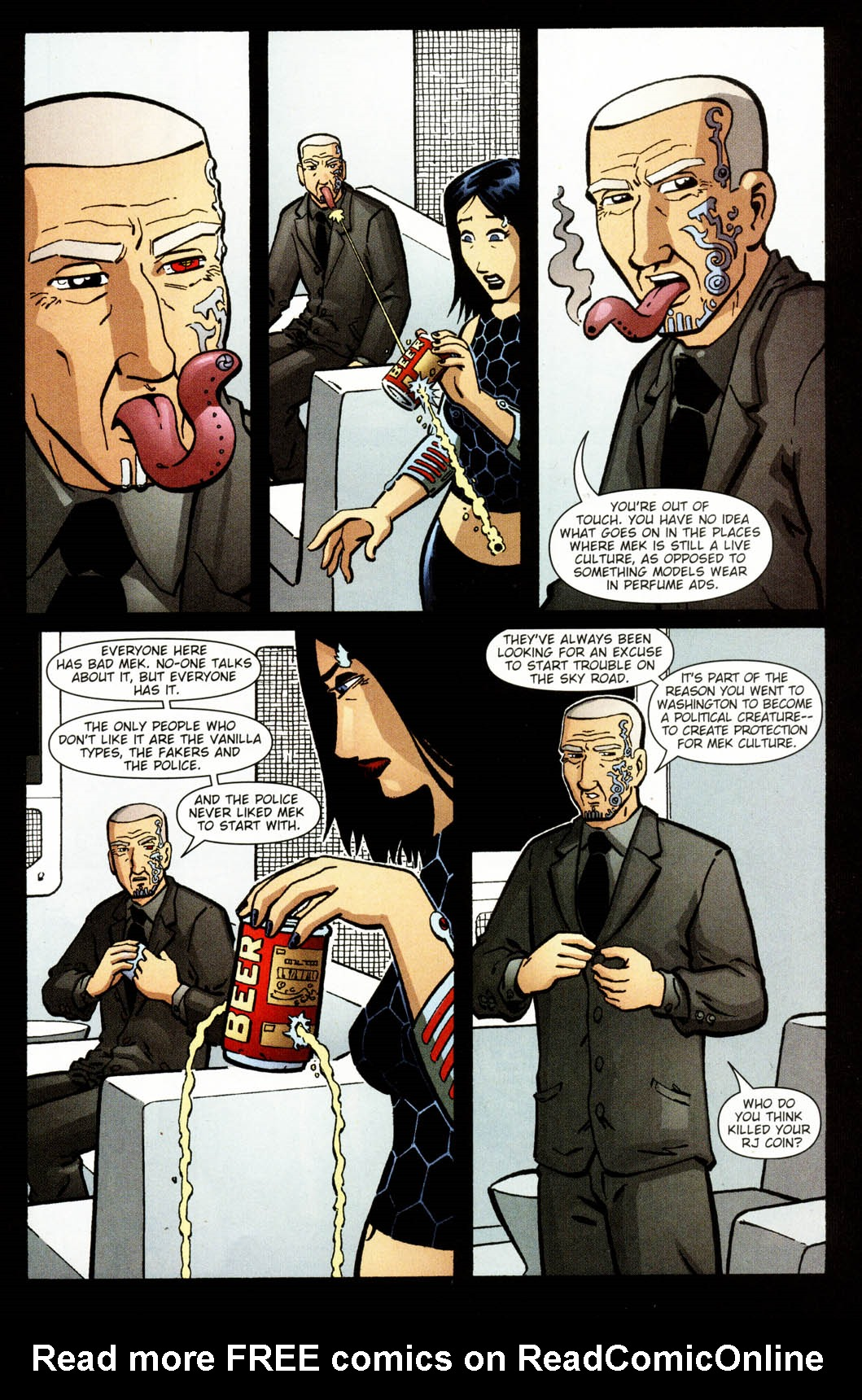 Read online Mek comic -  Issue #2 - 18