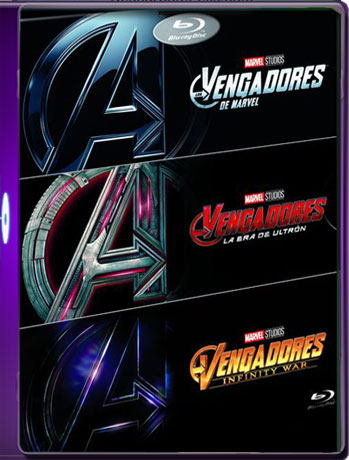 The Avengers 1-2-3 HD [1080p-BDrip 60fps] Latino Trial