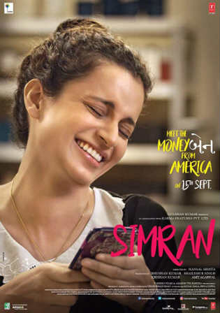 Simran 2017 HDRip 350MB Full Hindi Movie Download 480p Watch Online Free bolly4u