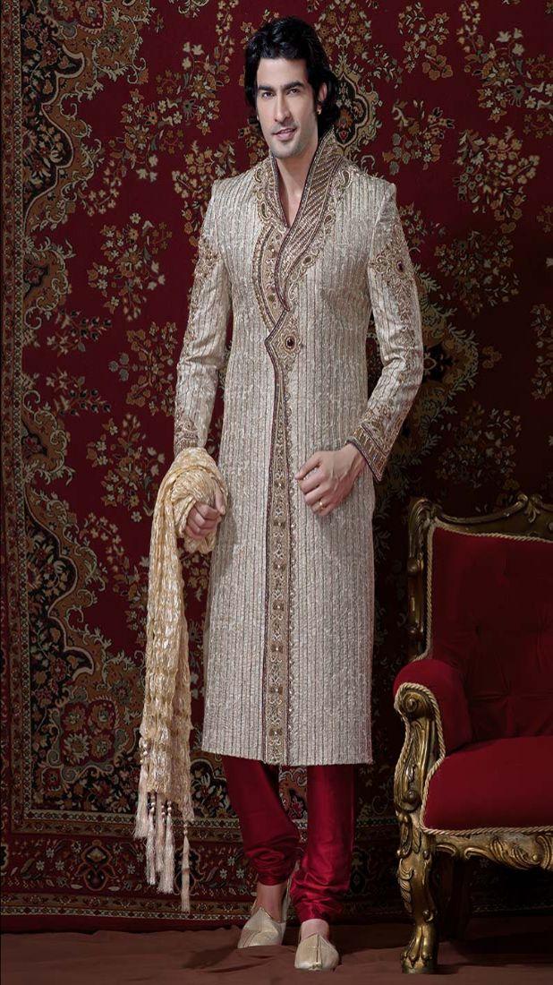 sherwani benarasi dress for groom-2013 wedding sherwani dress - Best ...