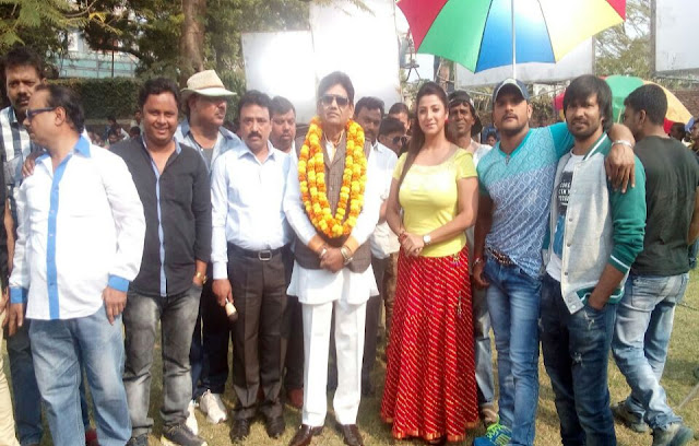 Khesari Lal Yadav & Krishna Kumar Together in film Hogi Pyar Ki Jeet