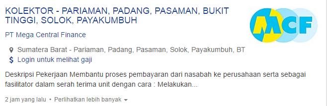 Lowongan Kerja Kabupaten Solok Selatan Terbaru 2019