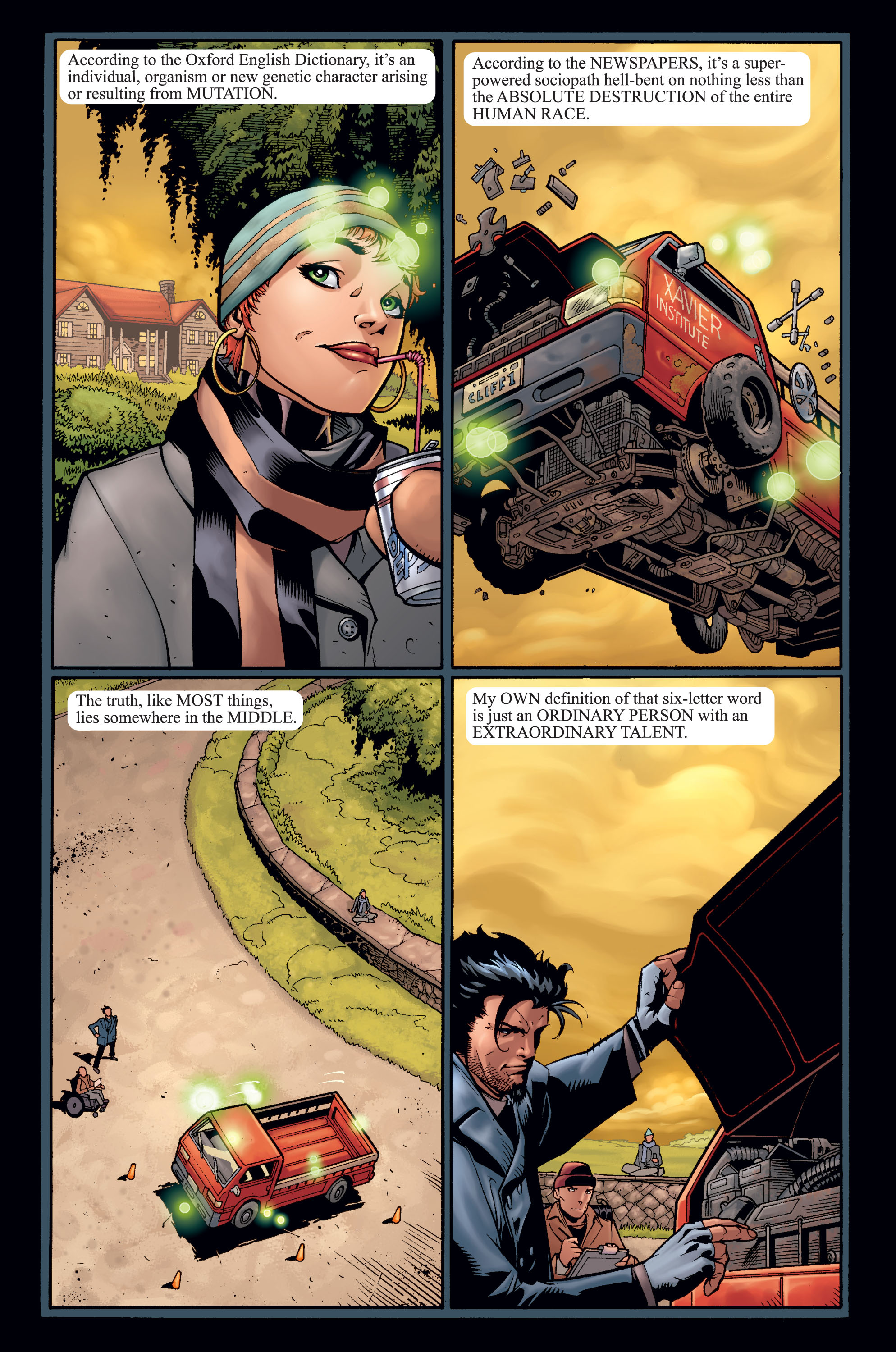 Read online Ultimate X-Men comic -  Issue #15 - 4