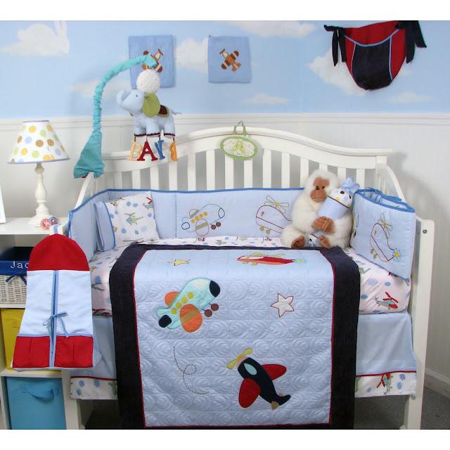 Airplane Nursery Bedding ~ TheNurseries