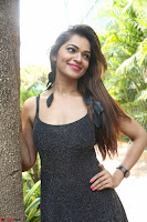 Aswini in lovely Deep Neck Sleeveless Black Dress Spicy Pics ~  Exclusive 28.JPG