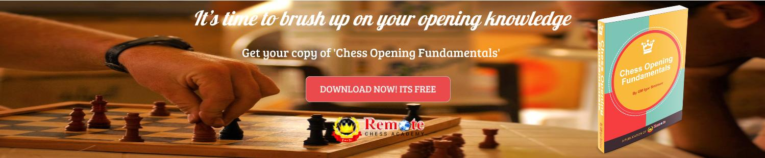 Chess Opening Fundamentals Ebook (FREE PDF download)