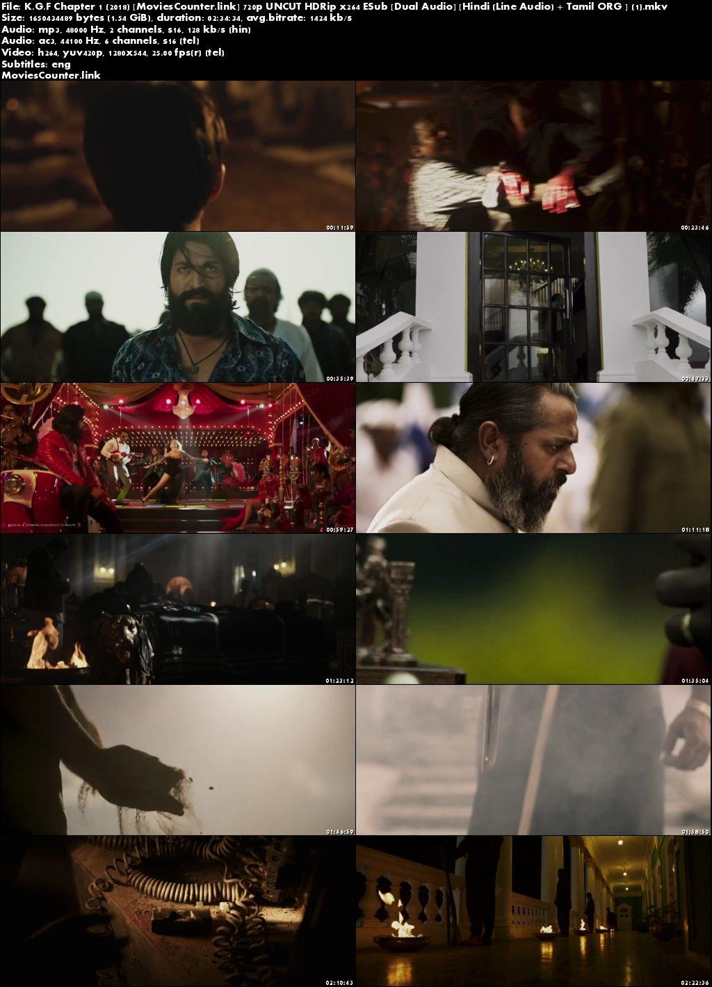 Screen Shots K.G.F: Chapter 1 2018 Hindi Dubbed HD 720p