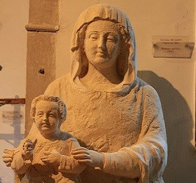 Statue of Virgin and Child, Madonna dell'Orto, Venice