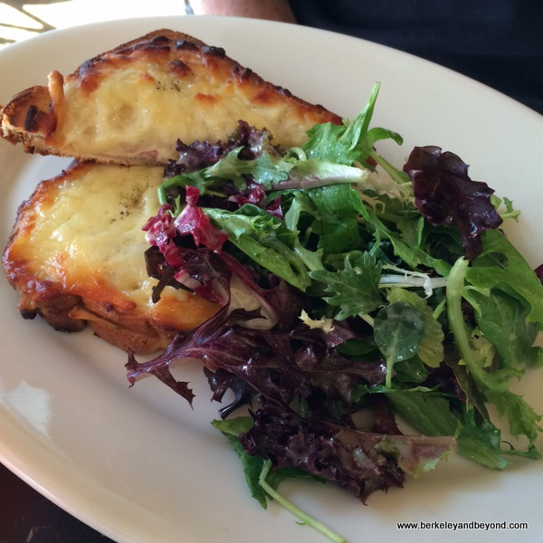 croque monsieur at Cafe de la Presse in San Francisco, California