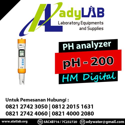 pH Meter type pH-200