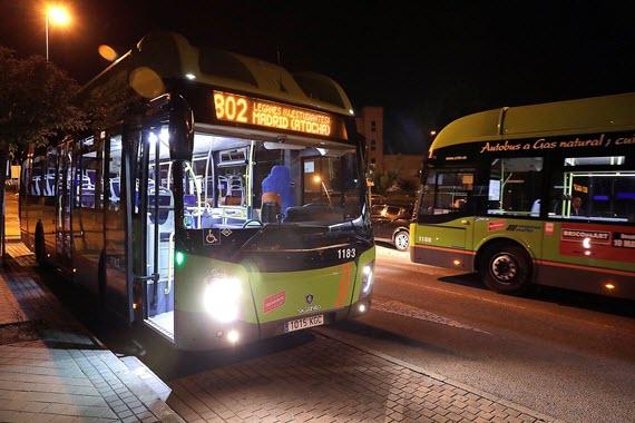 Resultado de imagen de autobús madrid leganes