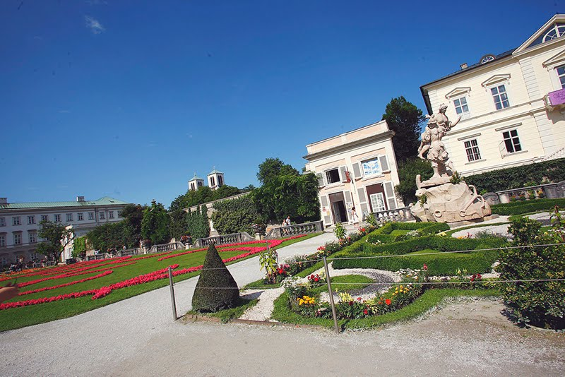 Baroque museum by the garden