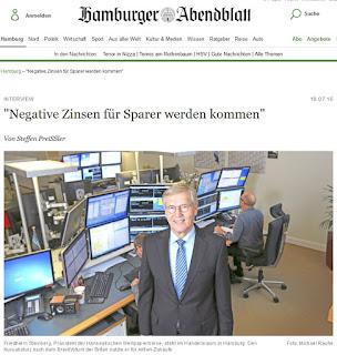 negativ zinsen negativzins deutschland ezb sparen sparer anlegen anleger umwelt