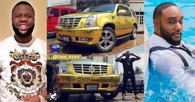 """""""Kcee bought his car on loan, I have proofs"""" — Hushpuppi Claims."""