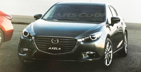 2017 Mazda 3 Axela Facelift Japan