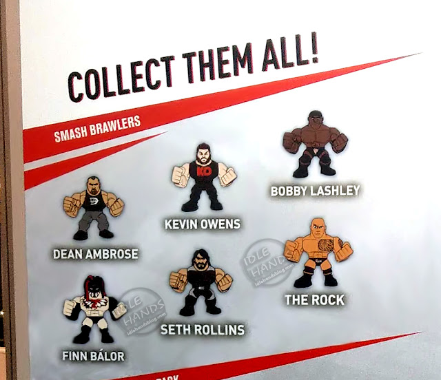 UK Toy Fair 2019 TOMY WWE Smash Brawlers 01