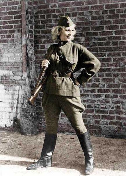 Kyra Petrovskaya sniper girl worldwartwo.filminspector.com