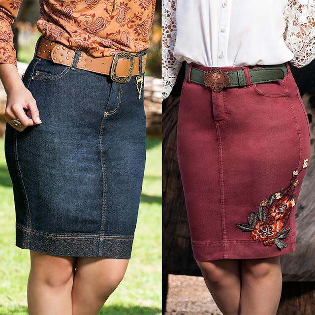 Modelagem da saia e combinação!