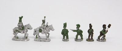Artillery - Limber team x 2 / Artillery crew x 4: