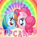 Pinkie and Rainbow: Cupcakes