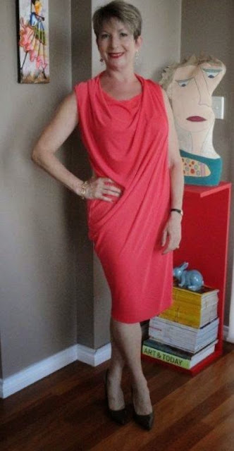 red is strong color for dress