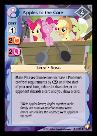 MLP Apples to the Core Equestrian Odysseys CCG Card