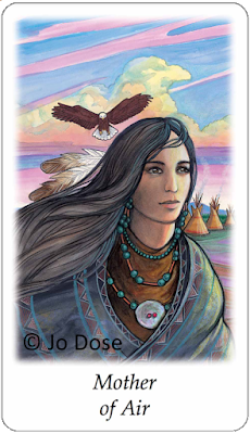 Vision Quest Tarot Mother of Air