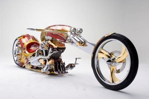 gambar Yamaha Roadstar BMS Chopper motor termahal di dunia seharga rp 5-7 triliun