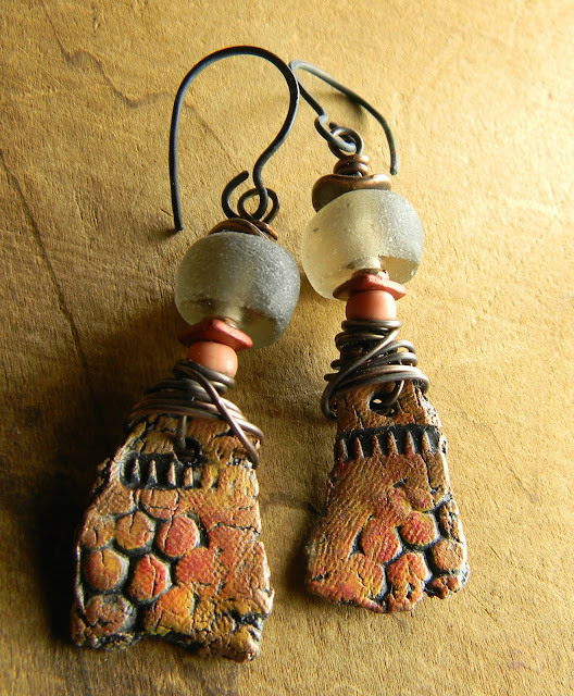 Earrings Everyday: Ashes and Embers