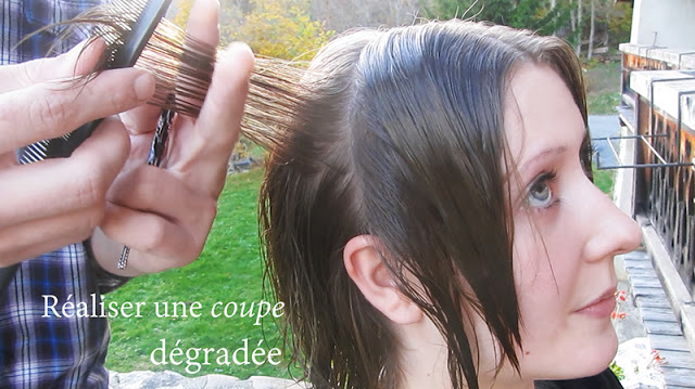 Comment couper les cheveux long en degrade