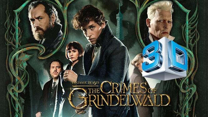 Animales fantásticos: Los crímenes de Grindelwald (2018) 3D SBS Full HD 1080p Latino-Castellano
