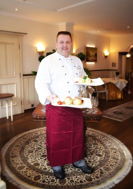 Frank Aussem, Küchenchef im Romantik Hotel Schloss Rheinfels in St. Goar im Mittelrheintal