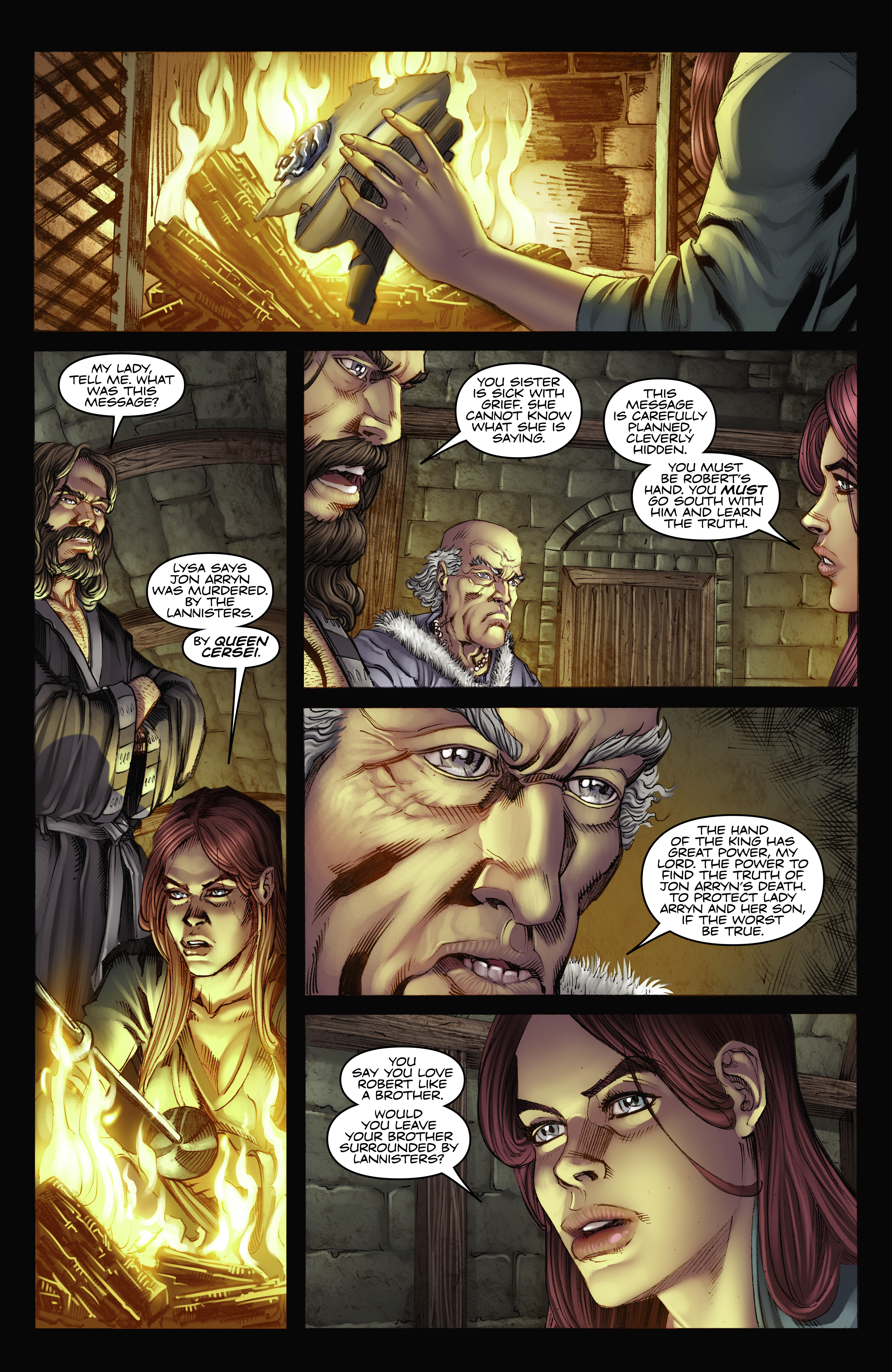 Read online A Game Of Thrones comic -  Issue #2 - 27