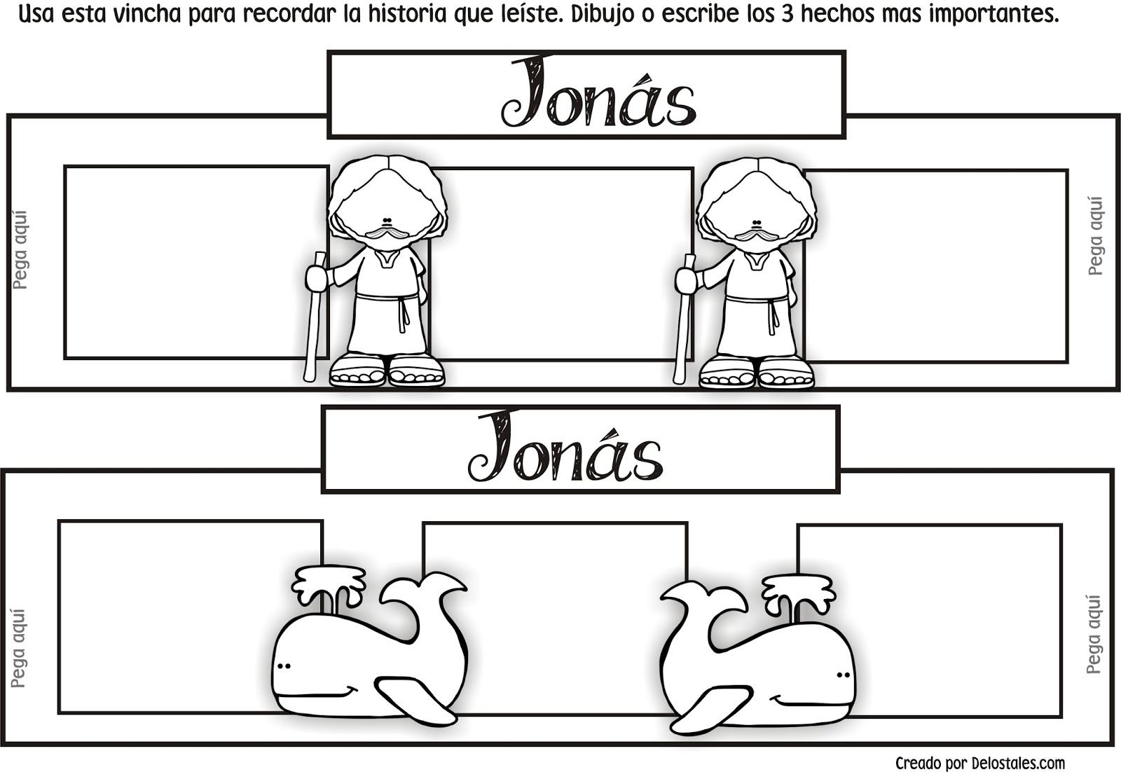 Famoso Jonás Y La Ballena Para Colorear Fotos - Dibujos Para ...