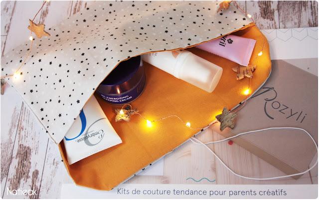 kit de couture  Pochette de la box  Rozyli