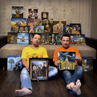 Юрий и Валерий Ермоленко