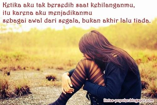Gambar DP BBM Galau Sedih Romantis Cinta